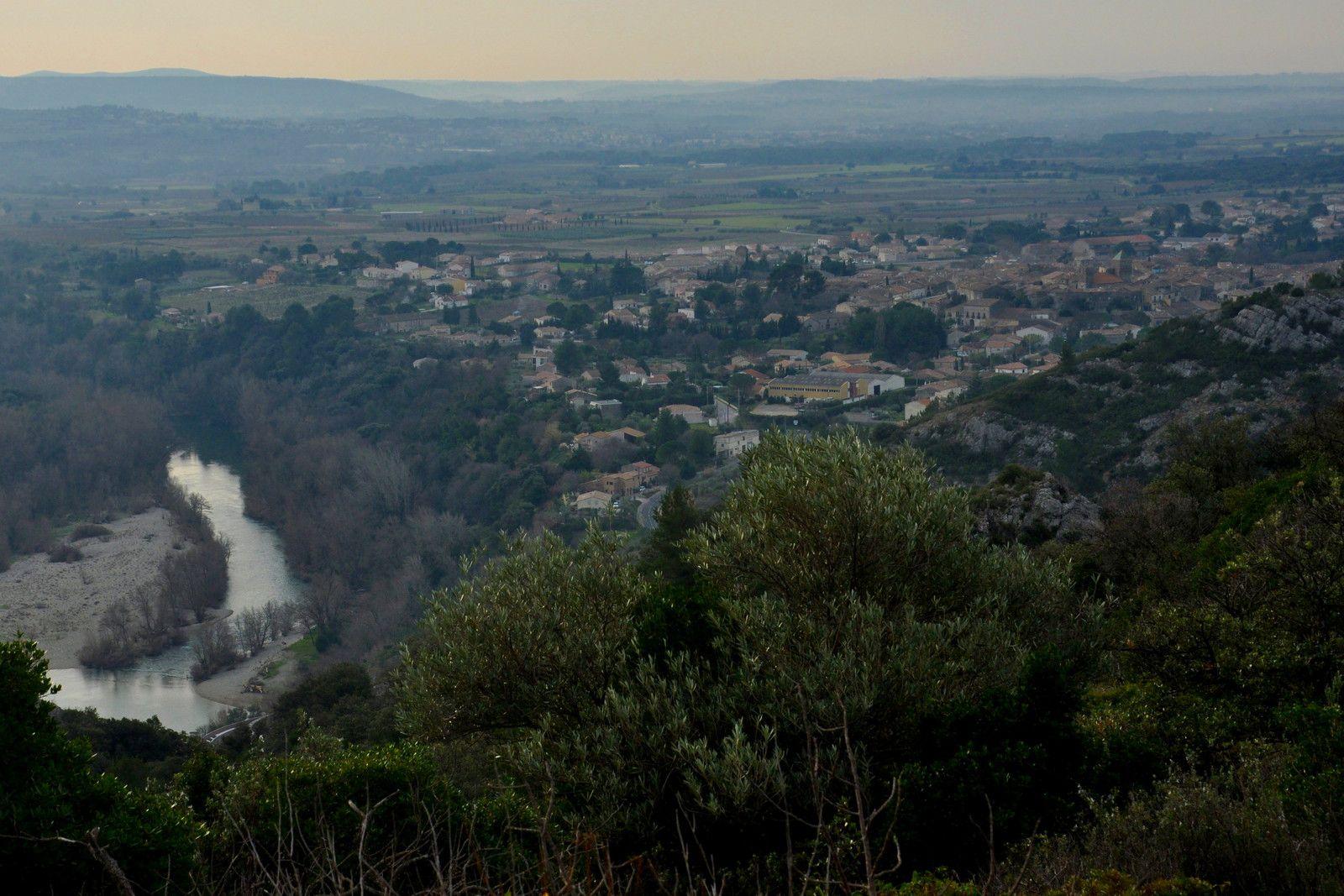 l'Hérault coule et Saint-Jean de Fos