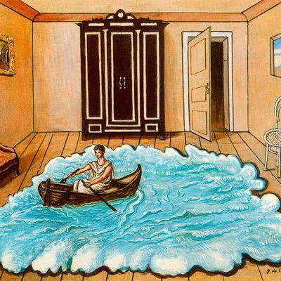 Le rêve d'être Ulysse ? Détournement de titre pour le Tableau du samedi posté le dimanche, le peintre métaphysique Chirico - Lenaïg