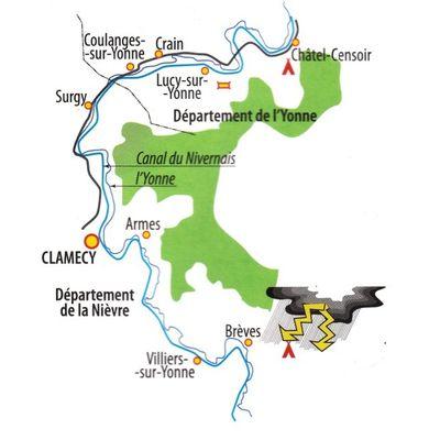 Fiche vélo 2011 Ces cyclos sont fous Canal du Nivernais