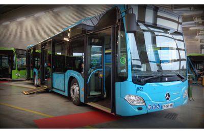 Réseau LE MET' inauguration nouveaux bus MERCEDES CITARO