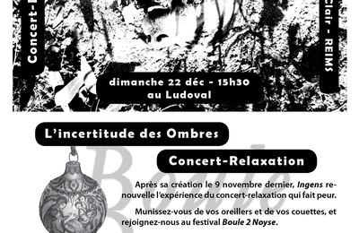 Concert relaxation au Festival BOULE DEUX NOYSE