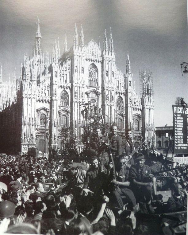 alcune immagini di Milano nei giorni della Liberazione