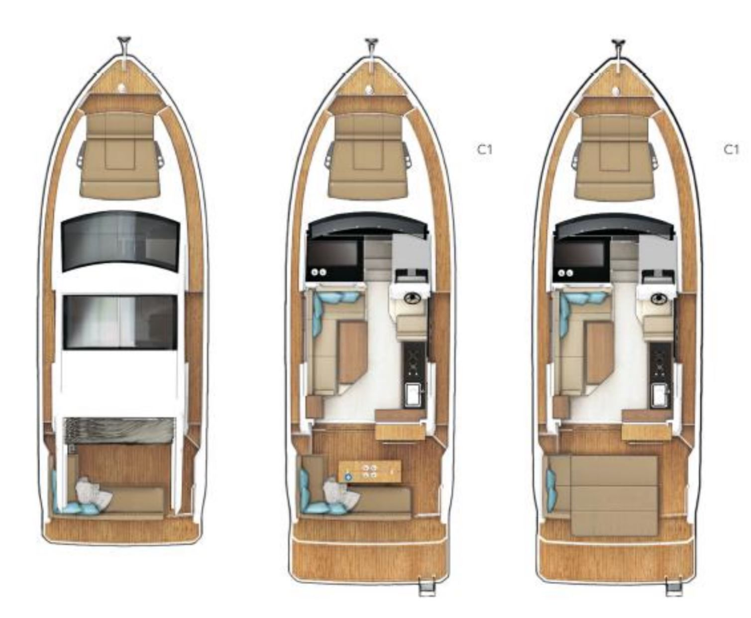 Sealine launches two new models, the Sealine C335 and C335V