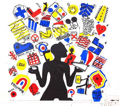 EXPOSITION JEAN-CHARLES DE CASTELBAJAC - I WANT / THE EMPIRE OF COLLABORATION