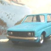 CITROEN LN BLEUE SOLIDO 1/43 - car-collector.net