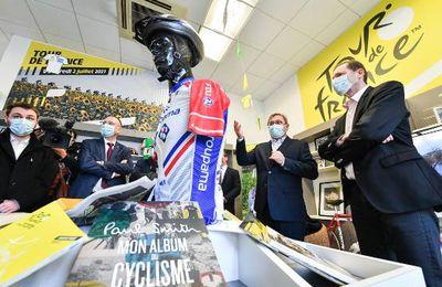 Le Berry Républicain>>>Déjà un parfum de Tour de France à Vierzon : Christian Prudhomme, le directeur de l'épreuve, était en visite ce jeudi + Tweets by LeTour...