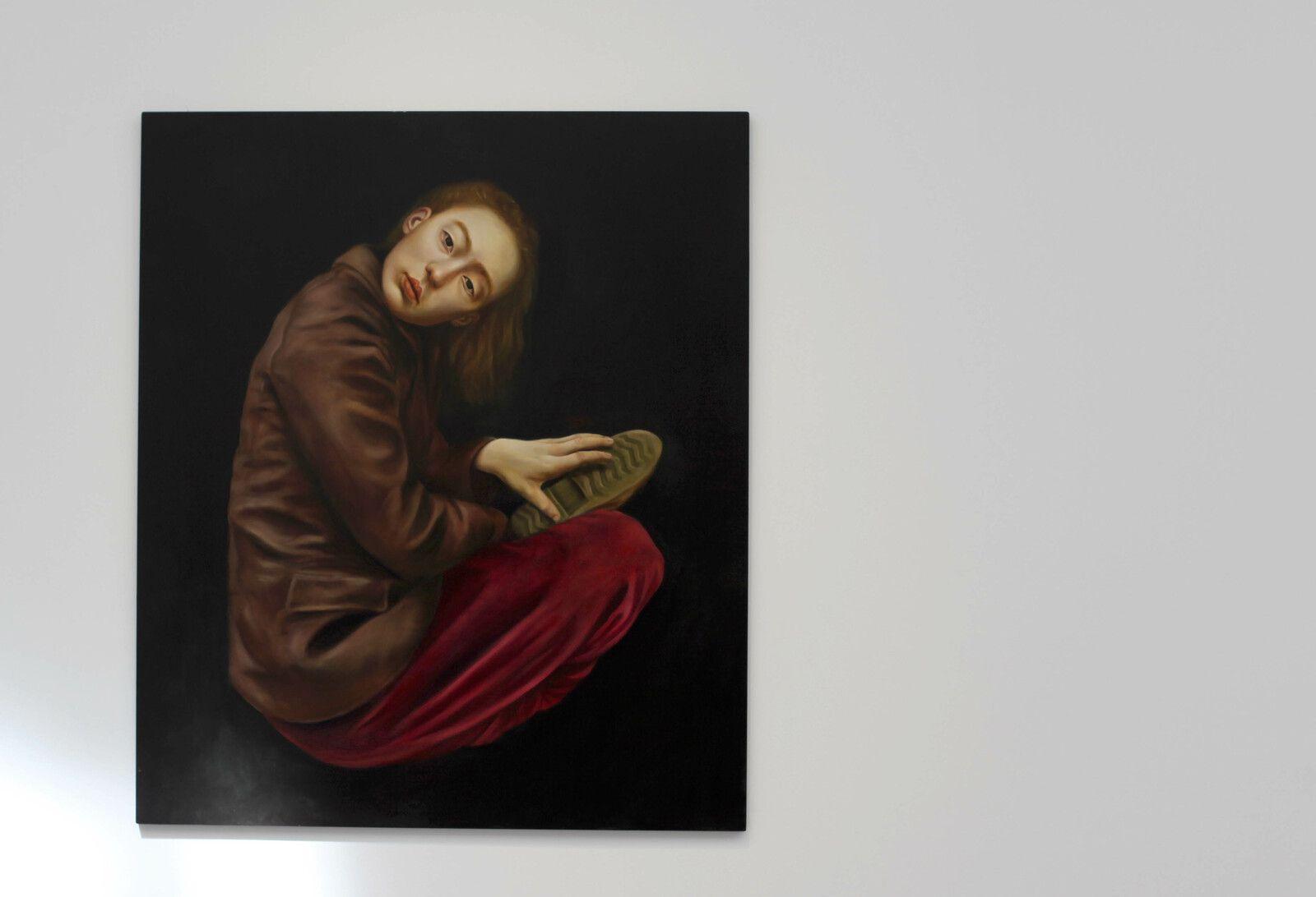 """""""E.Y.O."""", 2021 de Sophie KUIJKEN - Courtesy de l'artiste et de la Galerie Nathalie OBADIA © Photo Éric Simon"""