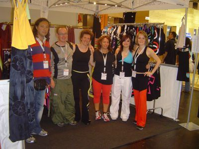 FIBO 2009 : la Team eZabel