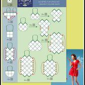 Tuto sacs qu'en carrés de tissus ou crochet - BLOG DE CESCLO2