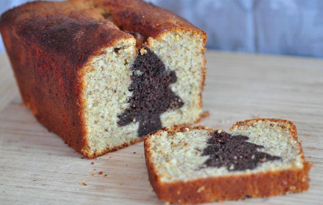 Un gâteau caché pour Céline (hidden cake noisette amande)