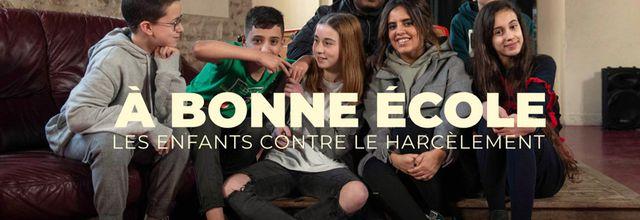 """""""À bonne école, les enfants contre le harcèlement"""", documentaire inédit le 26 septembre sur CANAL+kids"""