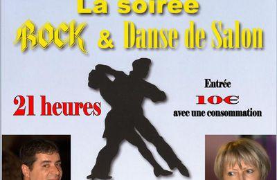 Samedi 2 Mars 2019. Soirée Dansante animée par James au Moulinet à Amboise.