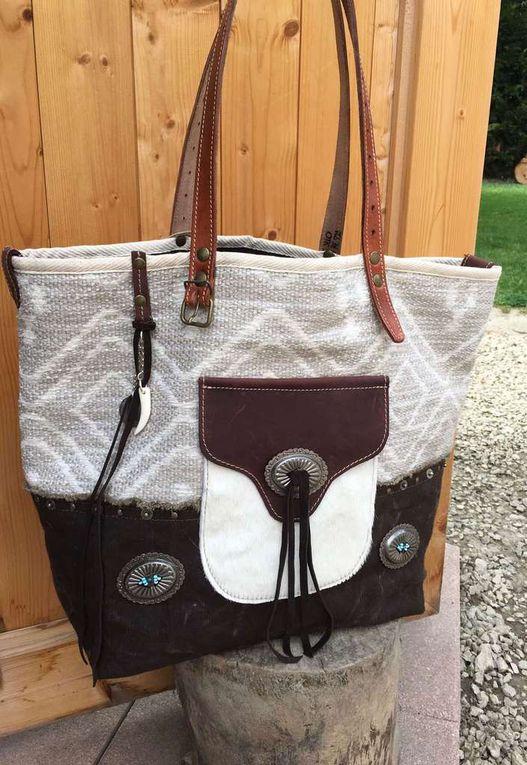sac cabas style Amérindien créateur