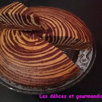 Gateau Marbré version Zébré