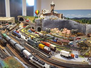 Photos de mon réseau de chemin de fer HO ( Gilbert )