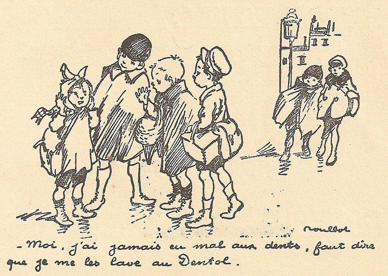PUBLICITES :  LES  GRANDS  NOMS  DE  L'AFFICHE...    Francisque  POULBOT.