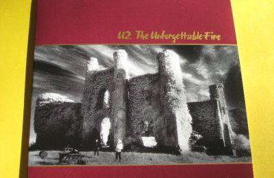 U2 THE UNFORGETTABLE FIRE 3 TRACK PROMO CD MINT RARE!!!