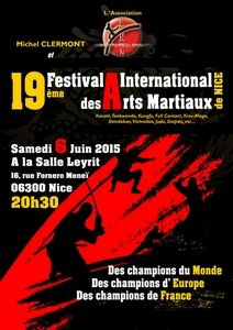 19ème Festival International des Arts Martiaux de Nice