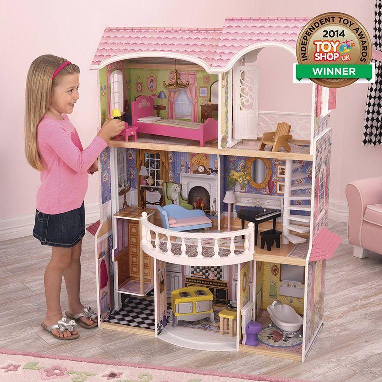 La casa de muñecas Magnolia Mansion es algo sacado de un cuento de hadas