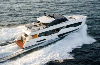 European debuts of new Ocean Alexander 90R and 45D at 2019 Cannes Yachting Festival
