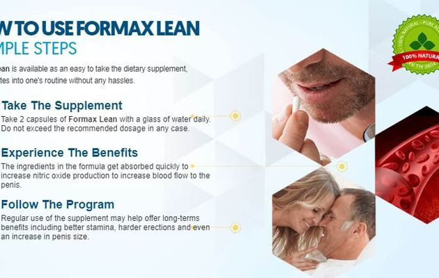 Formax Lean Male Enhancement Pills Reviews, Benefits, Side Effects, Ingredients, Price & Buy!