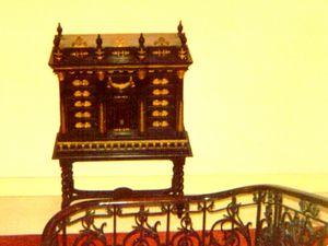 Ornementation de l'escalier  du château de 1941 à 1996