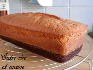 Le Browcake {mi-brownie mi-cake} au lait Ribot