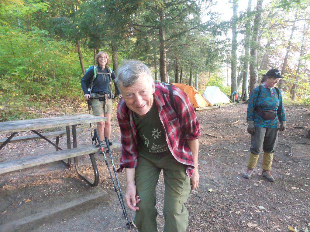La vie au camping North Buck et Big Salmon avec nos amis avec qui jamais on ne s'ennuie!