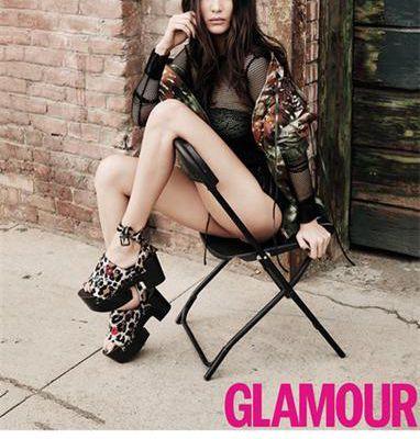 Bella Hadid ist Cover-Star der Mai-Ausgabe der deutschen Glamour