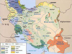L'Iran et ses 18 provinces