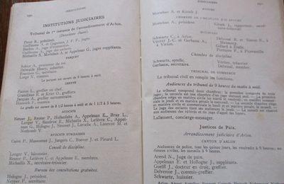 Arlon 1936; Personnel des Etablissements et Administrations