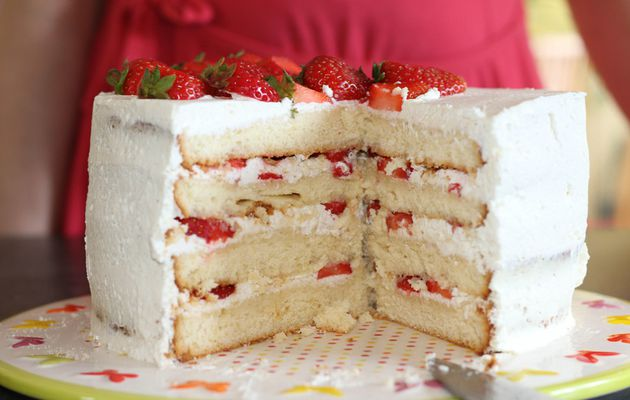 Layer Cake Fraises - Citron