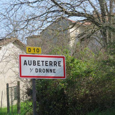 rando aubeterre sur dronne 12 km