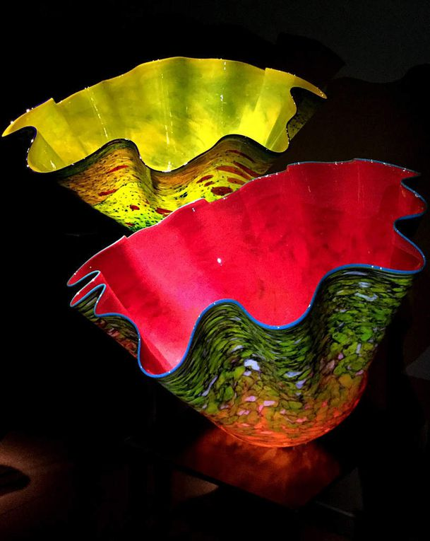 Diaporama : Chihuly garden and Glass, Macchia Forest + autres vases