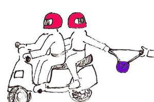 Gefahren bei Reisen: Entreissdiebstahl vom Motorrad aus