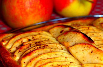 Tarte aux pommes & vanille