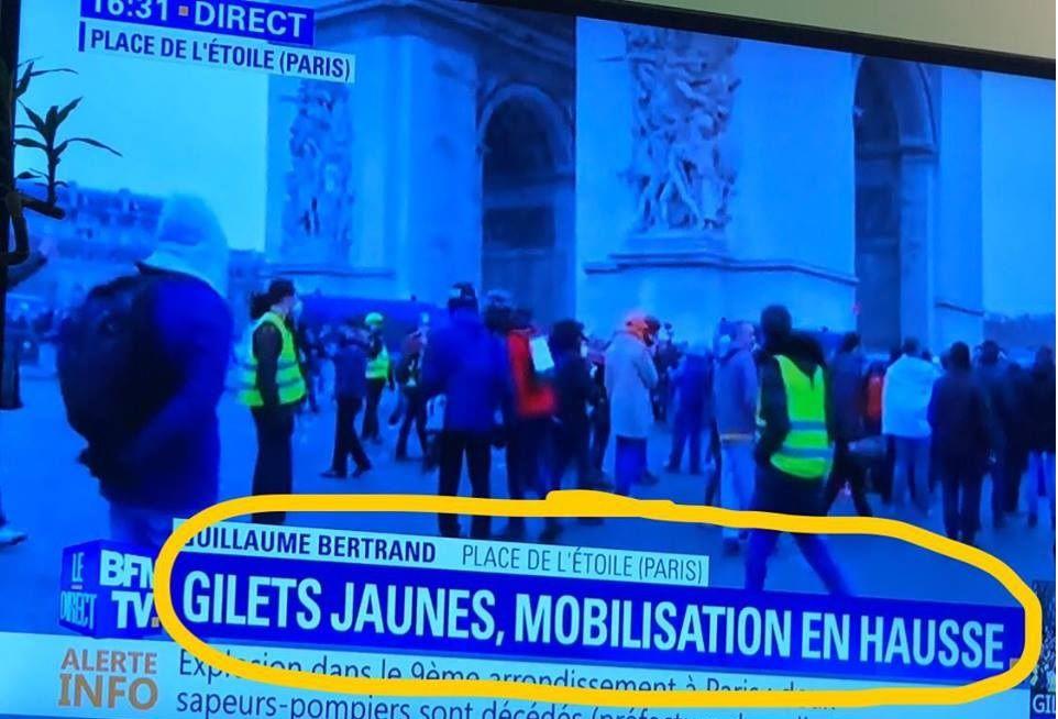 GILETS JAUNES Acte 9 : Mobilisation en FORTE HAUSSE