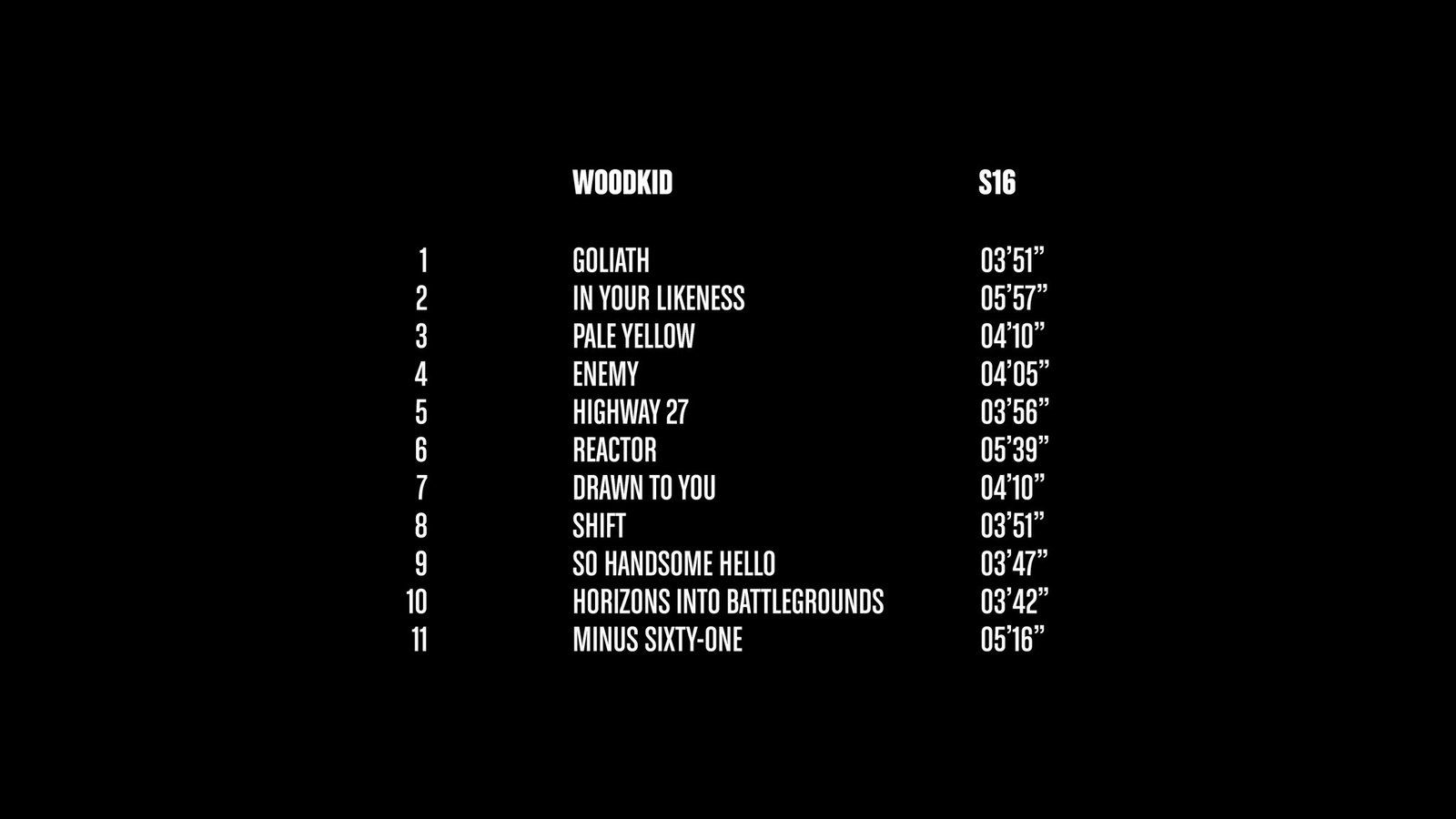 WOODKID IS BACK WITH 'S16' ALBUM
