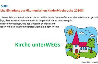 Ökumenische Kinderbibelwoche Veitshöchheim bietet vom 1. bis 4. September 2020 Spaß, Spiel und Interessantes