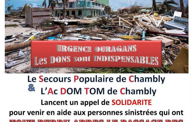 Chambly, appel de solidarité !