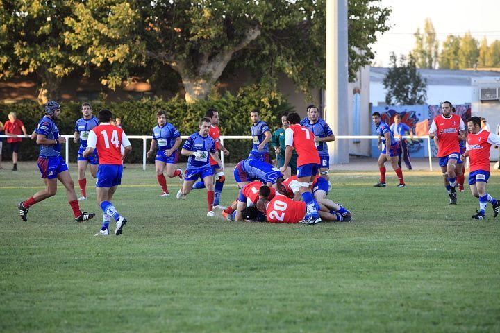 Match de levé de rideau entre l'Avenir Muretain contre Gan en réserves.. 2ème partie