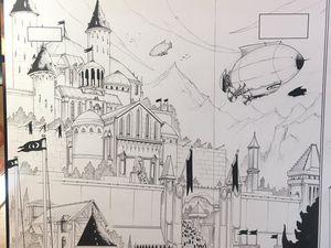 Le Palais d'Oroban qui apparaît au Tome 3