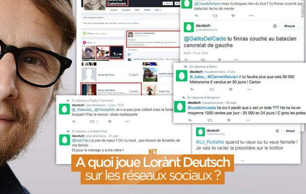 A quoi joue Lorànt Deutsch sur les réseaux sociaux ? #Mystere