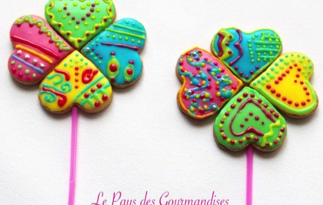 Biscuits colorés (glaçage royal)