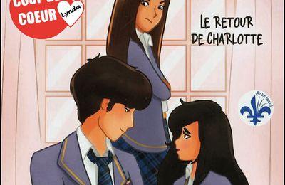 *ACADÉMIE DES SOURCES* T3: Le Retour de Charlotte* Sandra Verilli* Éditions Boomerang* par Lynda Massicotte*