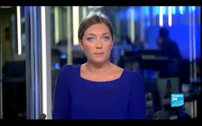 [2012 09 18] PAULINE GODART - FRANCE 24 - LE JOURNAL @05H00