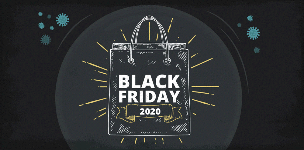 Black Friday 2020 avec le Coronaviris COVID-19