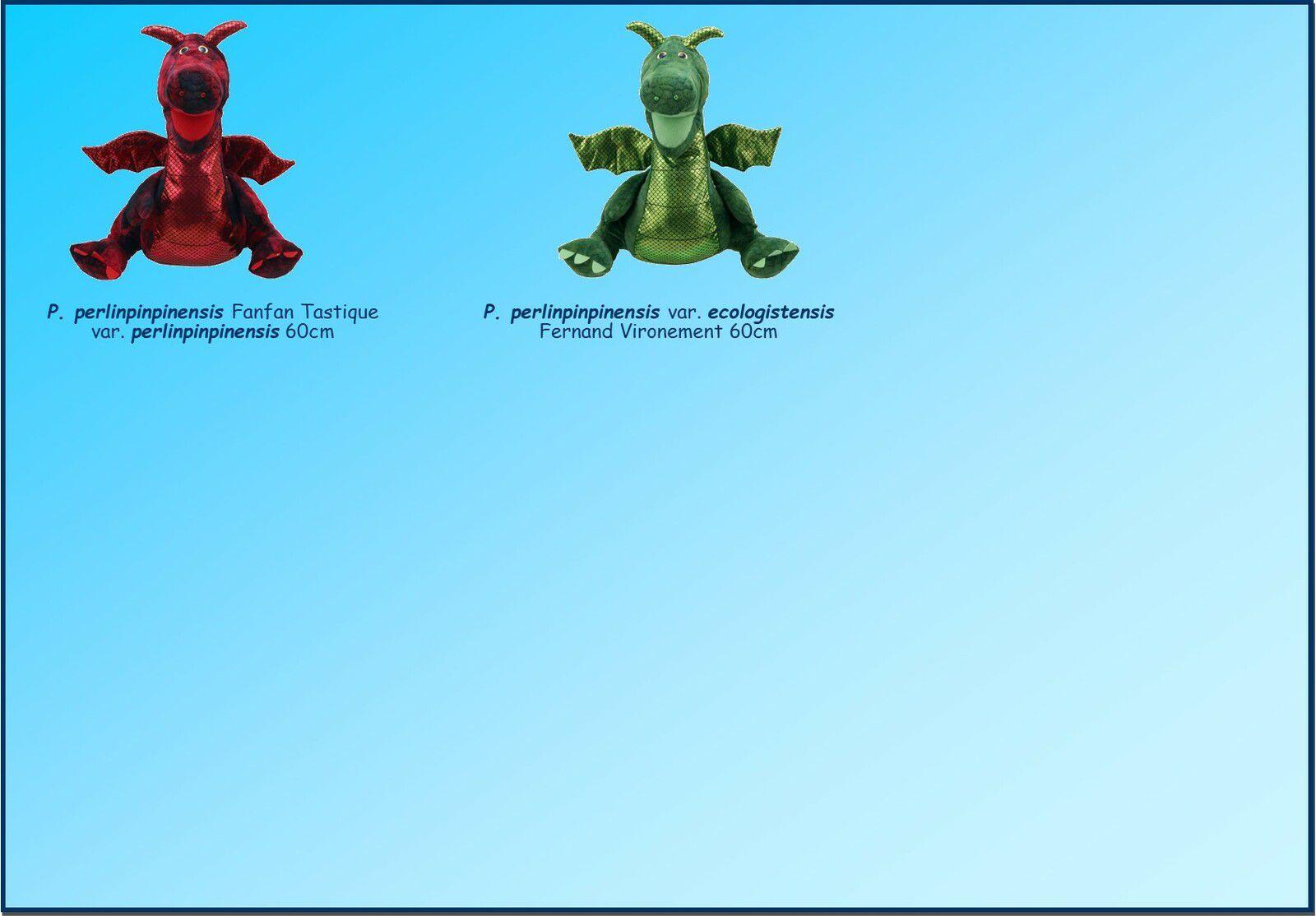 MUSEE PHILIBERT DRAGONNEAU : 1 Collection de Peluches Dragon