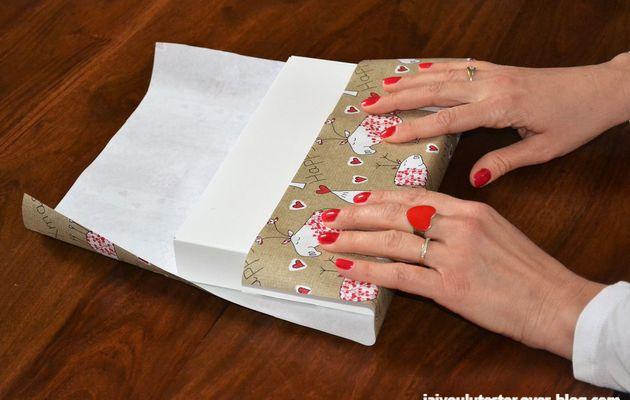 ...emballer ses cadeaux sans galérer et sans gaspillage de papier