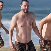 EXCLUSIVE: Keanu Reeves shows off his trim physique at 56
